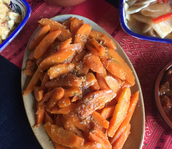 Spicy Carrot & Caraway Salad