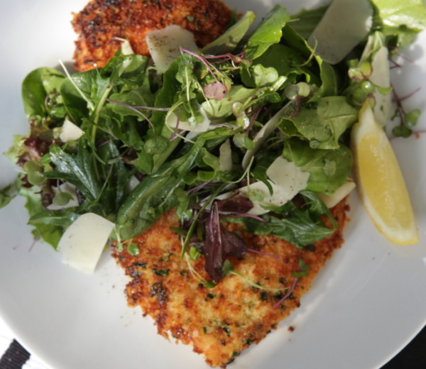 Panko Crusted Chicken Parmasan