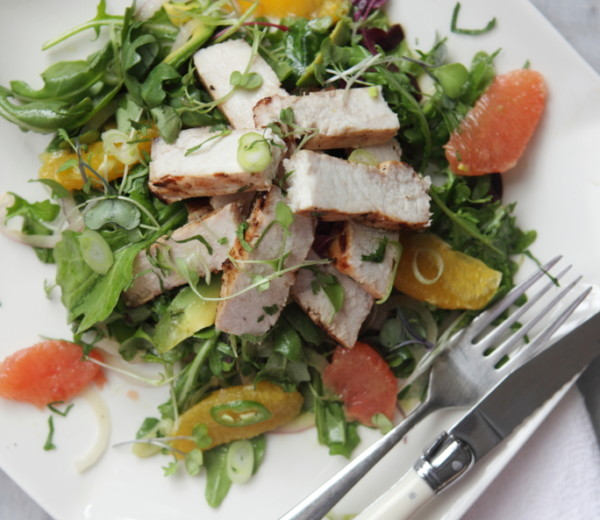 Grilled Swordfish & Citrus Salad
