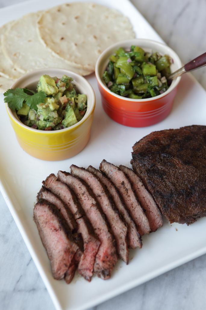 PetitTakett - Flank Steak Tacos